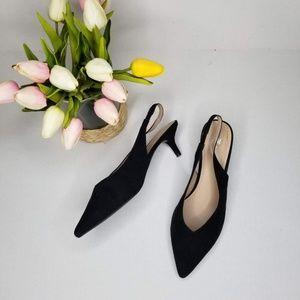 H&M Size 8.5 Euro 40 Slingback Kitten Heels